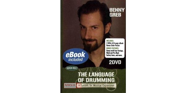 MS Benny Greb: The Language of Drumming (2 DVDs) - Optional German Voi