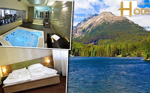 3 nebo 4 dny wellness s polopenzí v hotelu Lučivná v Tatrách