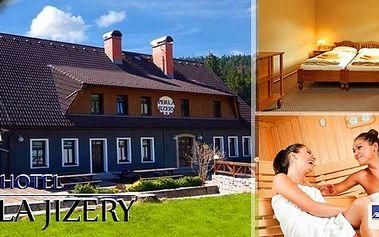 Letní dovolená v hotelu Perla Jizery v Jizerských horách na 8 dní. Snídaně, dvouchodový oběd, dvouchodová večeře, svačina pro děti, animační program pro děti, sauna, volná konzumace alko i nealko nápojů a další výhody.