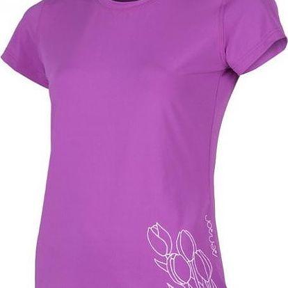 Sensor Coolmax Fresh PT Tulip dámské triko krátký rukáv fialová S