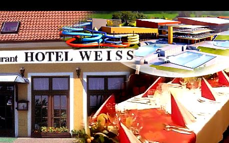 VINAŘSKÝ POBYT s POLOPENZÍ v nejoblíbenějším hotelu roku 2012 na 3 nebo 4 dny PRO DVA + neomezená konzumace sudových vín, sleva do Aqualandu Moravia a vstup do znojemského podzemí, se slevou až 45 %: Užijte si příjemný jarní relax v rodinném hotelu WEISS.