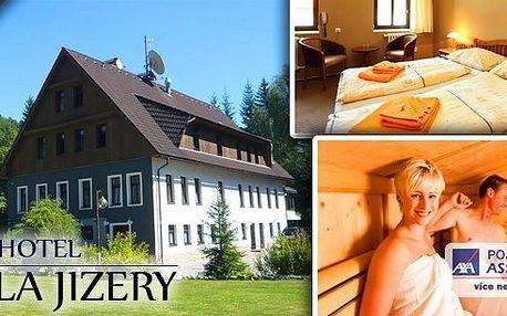 Pobyt v hotelu Perla Jizery v Jizerských horách na 3 nebo 4 dny s All Inclusive - snídaně, dvouchodový oběd, dvouchodová večeře, neomezená konzumace alko a nealko nápojů, návštěva sauny, odpolední káva.