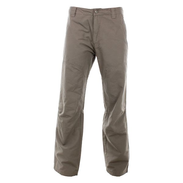 Pánské šedo-béžové letní kalhoty Hannah