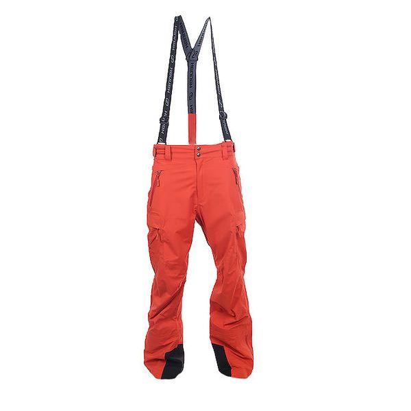 Pánské červené outdoorové kalhoty Hannah