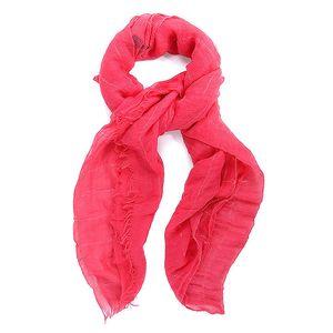 Dámský červený šátek Belle & Bloom