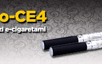2x Elektronická e-cigareta eGo-CE4 1100 mAh