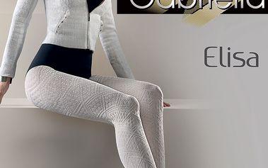 Punčochové kalhoty Elisa vzorované