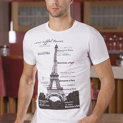 Pánské triko Oliver s potiskem z příjemného materiálu