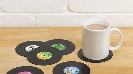 Stylové vinylové podtácky - 6 ks!