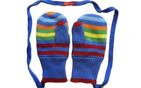 Barevné pruhované palčáky pro kluky