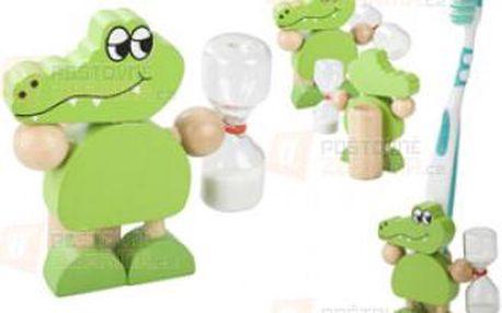 Stojánek na zubní kartáček ve tvaru krokodýla a poštovné ZDARMA s dodáním do 3 dnů! - 31408401