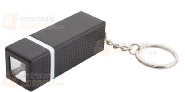 Přívěsek na klíče s černou baterkou a poštovné ZDARMA s dodáním do 3 dnů! - 23608406