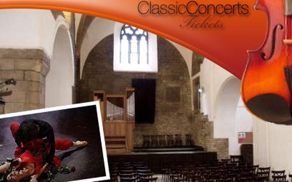 Klasika i opera od 290 Kč! Exkluzivní místa v Hybernii nebo u sv. Martina ve zdi!