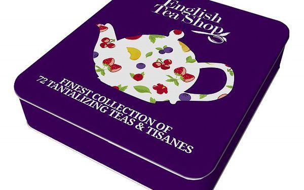 Dárková plechovka čajů Super Fruit - čaje pro všechny milovníky ovoce v krásném balení!