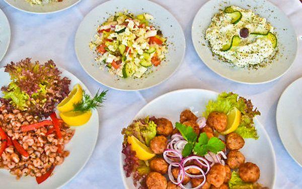 Řecké degustační menu pro dva U Jorgese