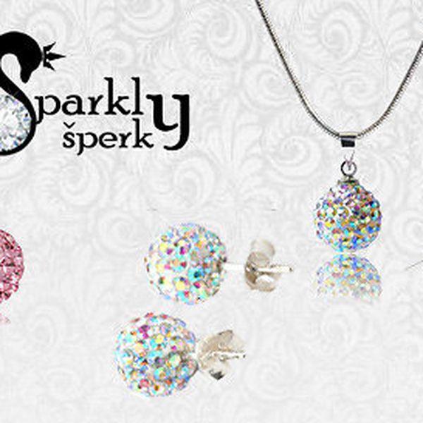 Nádherné sety šperků Shamballa v 10 barvách
