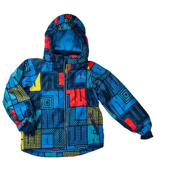 Chlapecká zimní bunda s potiskem