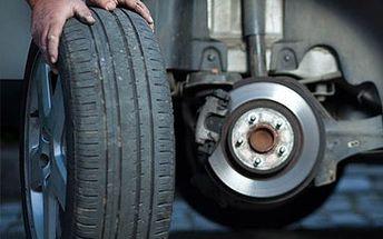 440 Kč za kompletní přezutí a vyvážení pneumatik na Vašem voze + 5% sleva na nákup pneu.