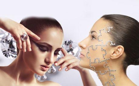 Diamantová mikrodermabraze nebo lifting pleti včetně výživné masky a poradenství za akčních 199 kč přímo u václavského náměstí! Zbavte se vrásek, pigmentových skvrn a jiných nedokonalostí pleti se slevou 83%!