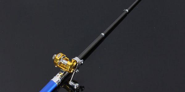 Rybářský prut s navijákem ve tvaru pera - 6 barev a poštovné ZDARMA! - 8208506