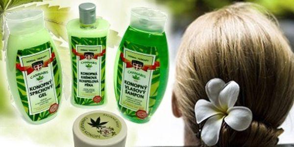 Konopná kosmetika zjemňuje pokožku a napomáhá ji udržovat přirozeně hebkou a jemnou