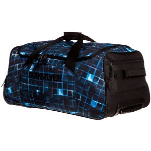 Taška Giantness Large Brillant Blue 70L od Quiksilver, kombinace více odstínů modré a černé barvy