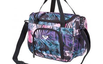 Dámská taštička značky Roxy Deep Breath Flower Nolhawaii Combo, lze využít jako kosmetickou tašku