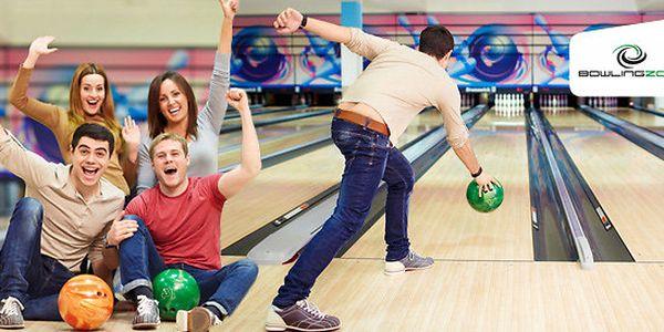 Hodina bowlingové zábavy až pro 8 osob