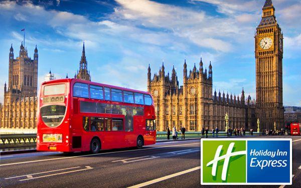 Letecký zájezd do Londýna s ubytováním