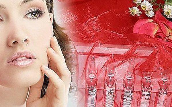 Acaiová pleťová maska a zapracování Koenzymu Q10 do pokožky v salonu Bamizi