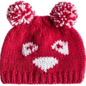 Roxy Zimní čepice Little Panda Beanie Bright Rose WTIBE014-MPBO