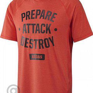 Adidas CB Graph Tee Blaze Orange/Black L