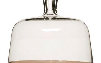 Prkénko na sýr se skleněným poklopem Oval Sagaform
