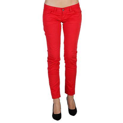 Dámské červené kalhoty Bonavita