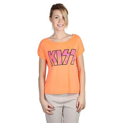 Dámské oranžové tričko s nápisem Bonavita