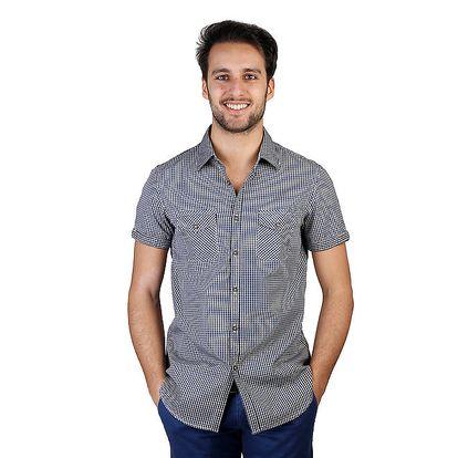 Pánská kostkovaná košile s krátkými rukávy Bonavita