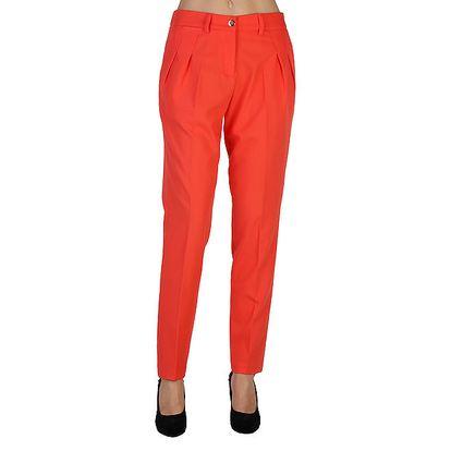 Dámské korálově červené kalhoty Bonavita