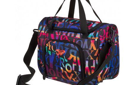 Roxy Taška Deep Breath 9L odpovídá větší kosmetické nebo menší cestovní tašce.