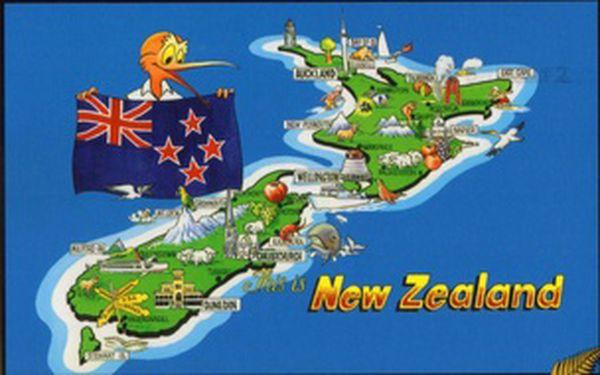 8 vyučovacích hodin konverzace angličtiny s rodilým mluvčím z Nového Zélandu pro středně pokročilé