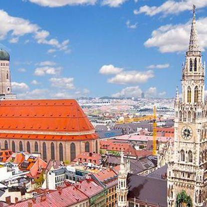Luxusní pobyt v Mnichově pro dva