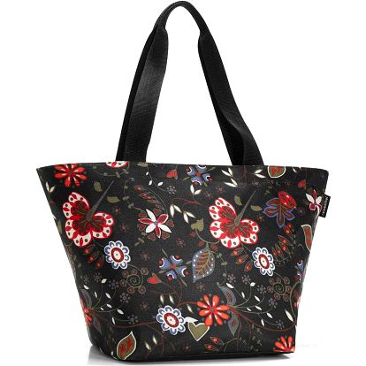Shopper M folklore black