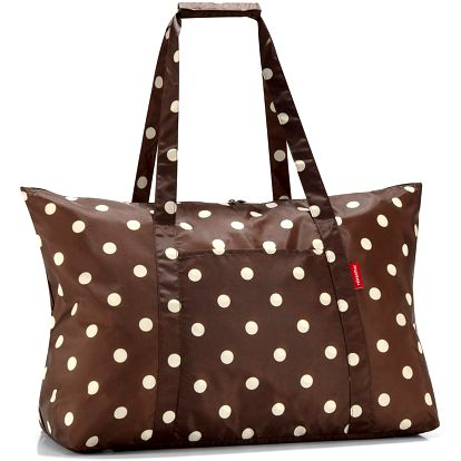 Mini maxi travelbag mocha dots