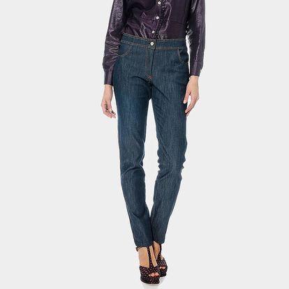 Dámské modré džíny ODM Fashion
