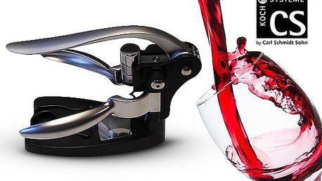 Pákový otvírák na víno s příslušenstvím