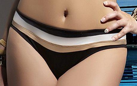 Stylové dámské plavky Barbados - kalhotky vyšší