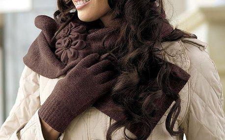 Elegantní pletená šála Ariadna