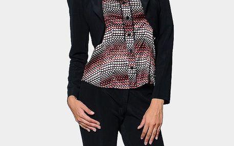 Dámské černé krátké sako ODM Fashion