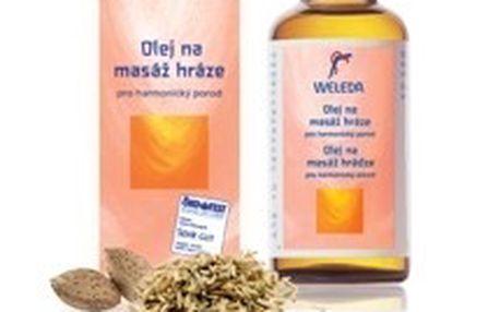 Weleda Olej na masáž hráze 50 ml