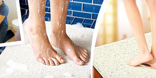 Chytrá hygienická koupelnová podložka Aqua Rug: čistota pro vaše nohy