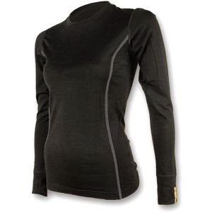 Sensor Merino Wool Active dámské triko dlouhý rukáv černá M